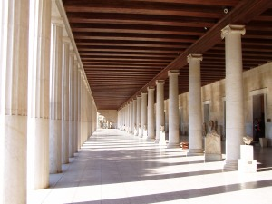 The Stoa at Athens